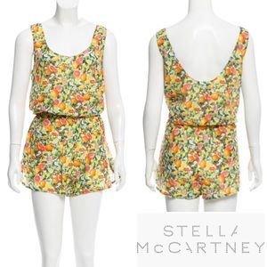 Stella McCartney Pants - STELLA MCCARTNEY Citrus Print Elastic Waist Romper
